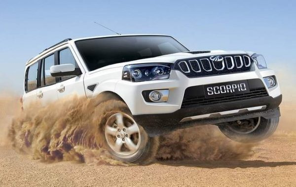 4WD Jeep mahindra Scorpio on Rent