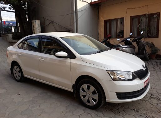 Skoda Rapid Luxury sedan on Hire in Nepal